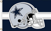 Load image into Gallery viewer, Dallas Cowboys Logo Flags 3ftx5ft