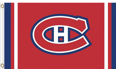 Montreal Canadiens custom flag 3ftx5ft