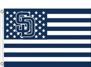 San Diego Padres USA Stars Banner flags 90x150cm