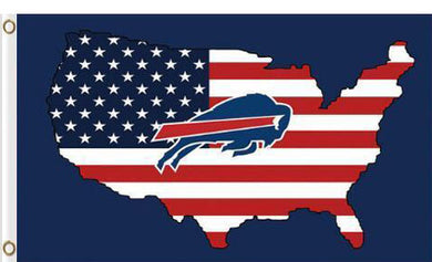 Buffalo Bills US Flag 3x5Ft
