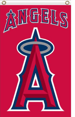 Los Angeles Angels Logo Banner Flag 3x5ft