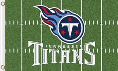 Tennessee Titans  Banners Green Flags 3ftx5ft