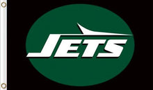 Load image into Gallery viewer, New York Jets Club Logo Sports Flags 3ftx5ft