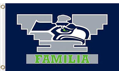 Seattle Seahawks 3x5FT Familia Flags