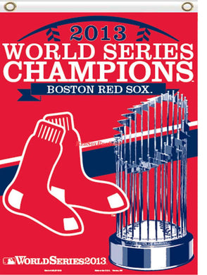 Boston Red Sox 2013 World Series Champions Banner Flag 3x5ft