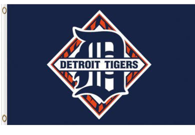 Detroit Tigers Banner flags 3ftx5ft