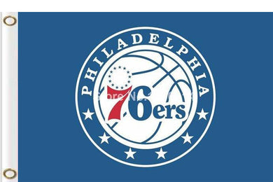 Philadelphia 76ers custom flag 3ftx5ft
