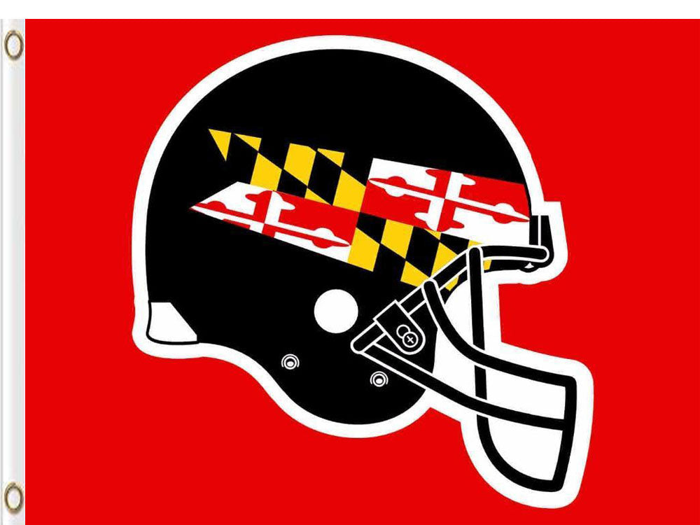 Maryland Terrapins Hand Flag 3*5ft