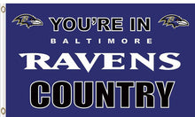 Load image into Gallery viewer, Baltimore Ravens In Country Flag 3x5ft