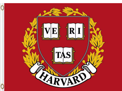 Harvard Crimson Hand Flags Banners 3*5ft