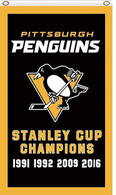 Pittsburgh Penguins champions flags 90x150cm