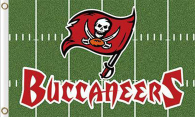 Tampa Bay Buccaneers Green Flags 3ftx5ft