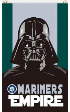Seattle Mariners Star Wars Darth Vader flag 3ftx5ft