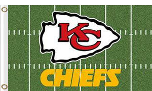 Kansas City Chiefs Green flag 3x5FT