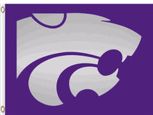 Load image into Gallery viewer, Kansas State Wildcats Hand Flag 3*5ft Club
