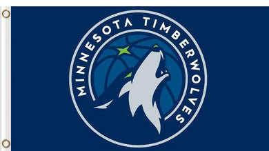 Minnesota Timberwolves custom flag 3ftx5ft