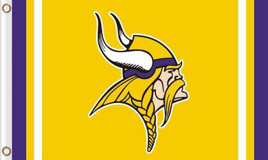 Minnesota Vikings Logo Sport Team 3x5FT