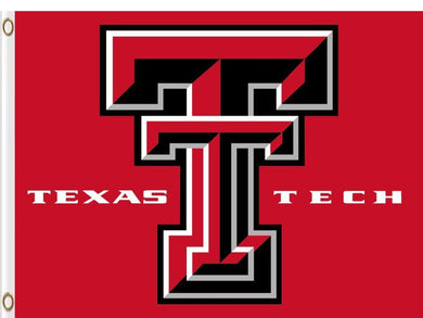 Texas Tech Red Raiders Sports Digital Printing Flag 3ft*5ft