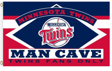 Minnesota Twins Man Cave Banner flag 3ftx5ft