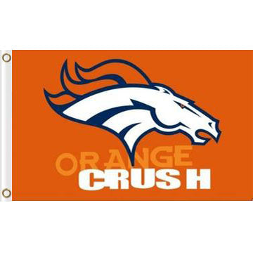 Denver Broncos Flag 3ftx5ft