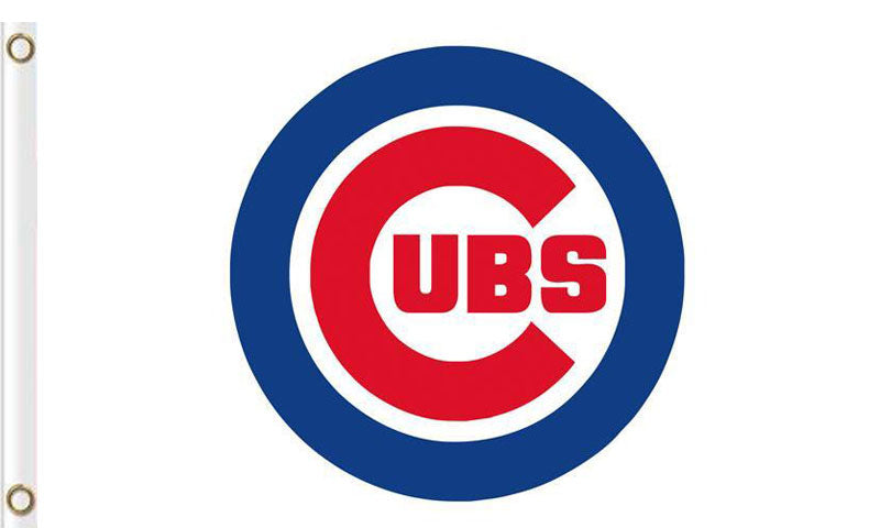 Chicago Cub Baseball Club flags 3ftx5ft