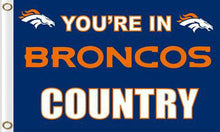 Load image into Gallery viewer, Denver Broncos Football Team Logo Flags 3ftx5ft
