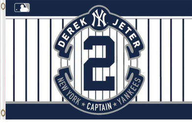 New York Yankees derek jeter Banner flags 3x5ft