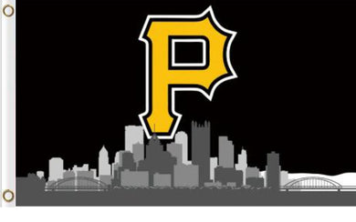 Pittsburgh Pirates Skyline P Banner flag 90x150cm