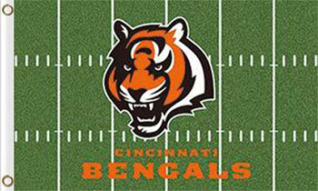 Cincinnati Bengals Green Flag 90*150 CM