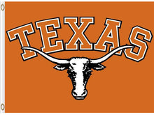 Load image into Gallery viewer, Texas Longhorns Digital Printing sports teamFlag 3*5ft