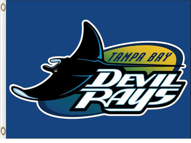 Tampa Bay Rays Devil Rays Flag 3x5ft