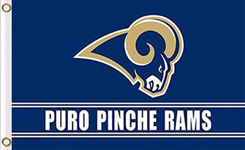 Los Angeles Rams Puro Pinche Flags 3ftx5ft