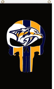 Nashville Predators 3x5FT 100D Polyester