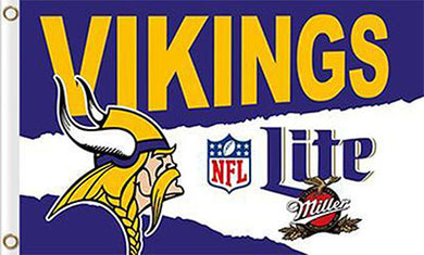 Minnesota Viking Green Lite 3ftx5ft