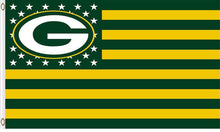 Load image into Gallery viewer, Green Bay Packers Team Logo Flags 3ftx5ft