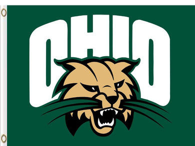 Ohio Bobcats Digital Printing 3x5FT