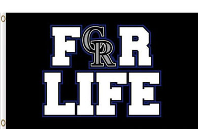 Colorado Rockies For Life flags 3ftx5ft