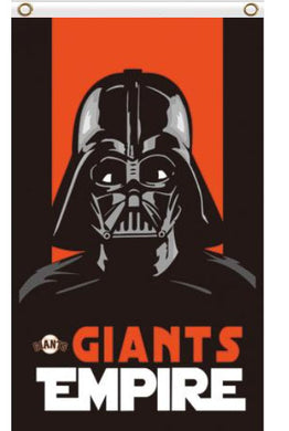 San Francisco Giants Star Wars Darth Vader Banner flags 90x150cm