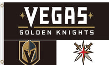 Load image into Gallery viewer, Vegas Golden Knights team flag 3x5FT