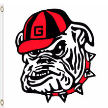 Load image into Gallery viewer, Georgia Bulldogs Hand Flag 3*5ft Club Basketball