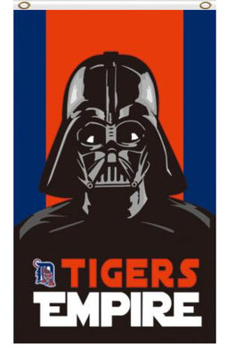 Detroit Tigers Star Wars flags 3ftx5ft