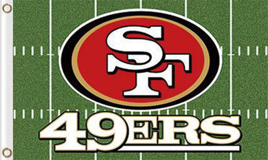 San Francisco 49ers Green Flag 3ftx5ft