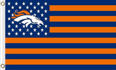 Denver Broncos Star Stripes 3FTx5FT