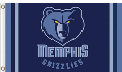 Memphis Grizzlies custom flag 3ftx5ft