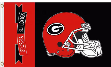 Georgia Bulldogs Hand Flags Banners 3*5ft