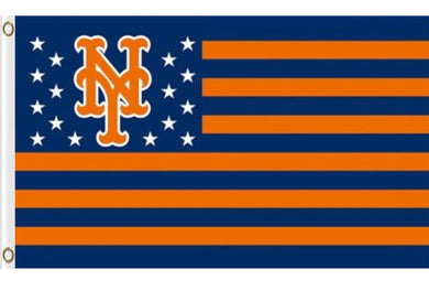New York Mets Nation US Banner flag 3ftx5ft