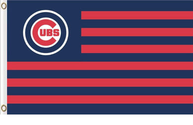 Chicago Cubs Retro Hockey Baseball Banner flag 3ftx5ft