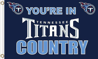 Tennessee Titans In Country Flags 3ftx5ft