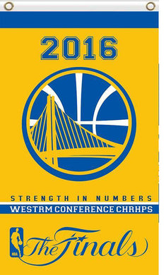Golden State Warriors 2016 champs flag 3ftx5ft
