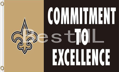 New Orleans Saints Commitment To Excellence Flags 3*5FT